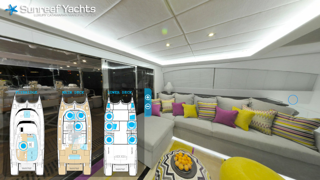 70 Sunreef Power 1 Life - Virtual Tour