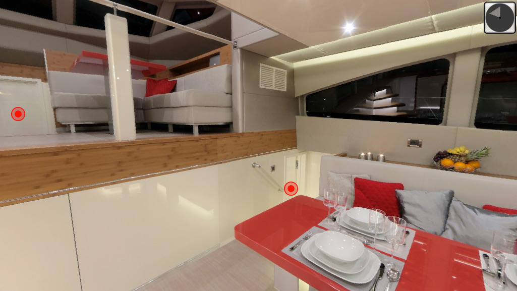 60 Sunreef Lilu-Yacht - Virtuelle Tour