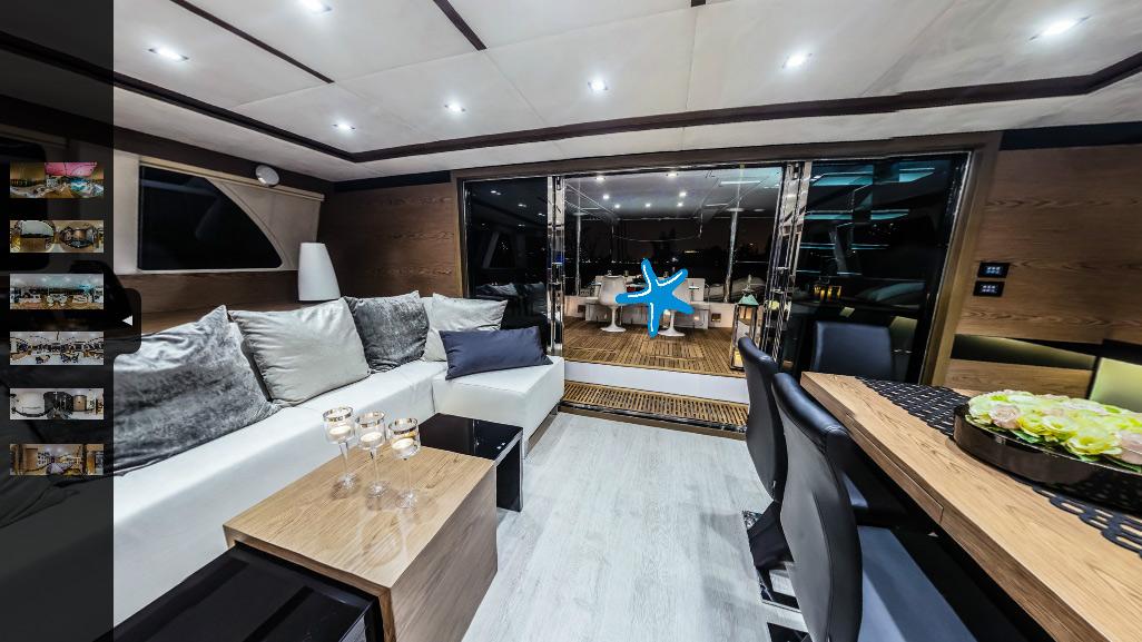 Sunreef 60 Loft GRACE - Virtuelle Tour
