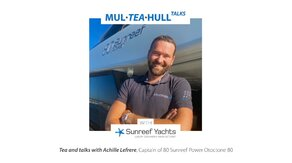 Mul-Tea-Hull Talks with Sunreef Yachts Achille