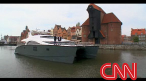 CNN International w Sunreef Yachts