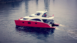 60 Sunreef Power LILU YACHT. Volvo IPS system