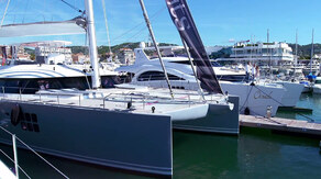 Sunreef 80 Carbon Line on Wealth TV, Cannes 2913