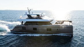 80 SUNREEF POWER catamaran walkthrough with Sunreef Yachts' PR Manager Artur Poloczanski