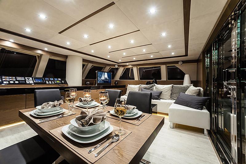 launched yachts - sunreef 60 loft grace - sunreef yachts
