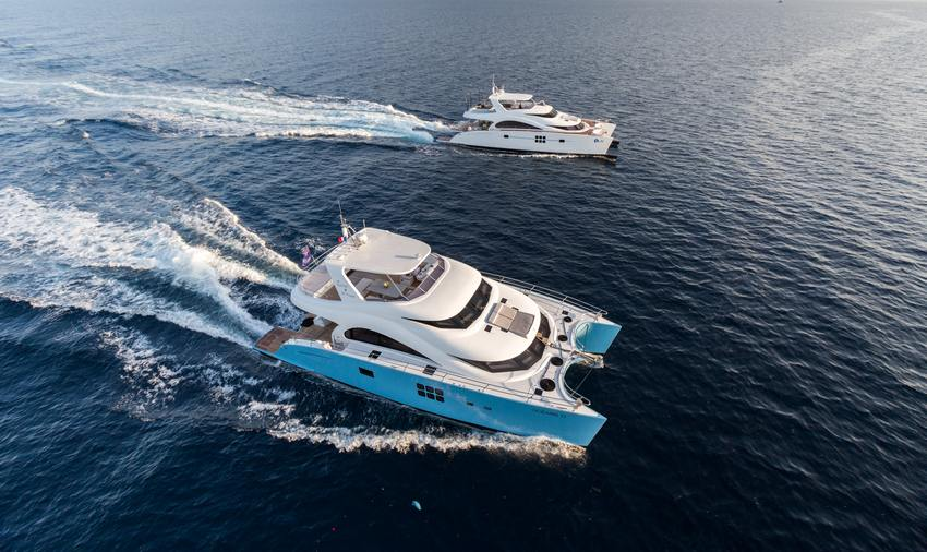 60 Sunreef Power Ocean's 11
