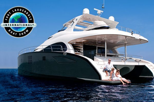 Sunreef Yachts at the Fort Lauderdale International Boat Show