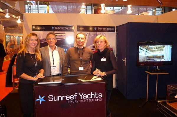 Sunreef Yachts at the Nautic de Paris 2010