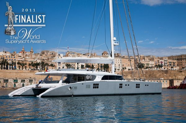 The Sunreef 114 CHE nominated for Superyacht Design Awards 2011