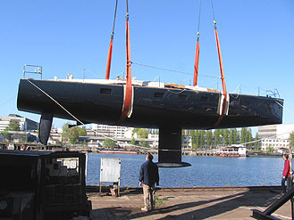 First Sunreef monohull launched last week