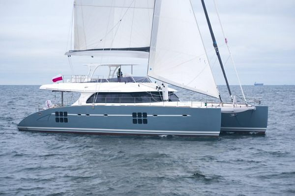 New unit of the Sunreef 70, ANINI, successfully launched