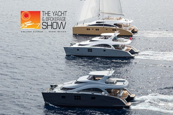 Верфь Sunreef Yachts на яхтенной выставке Miami Brokerage and Yacht Show 2013