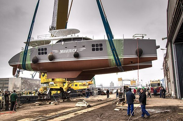 Spectacular Launching Week at Sunreef Yachts: Three Yachts on Water