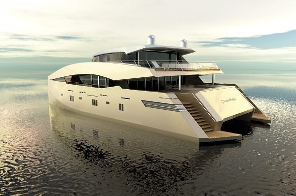 The 85 Sunreef Power Becomes 90 Sunreef Power After Clients' Direct Implication to the Project