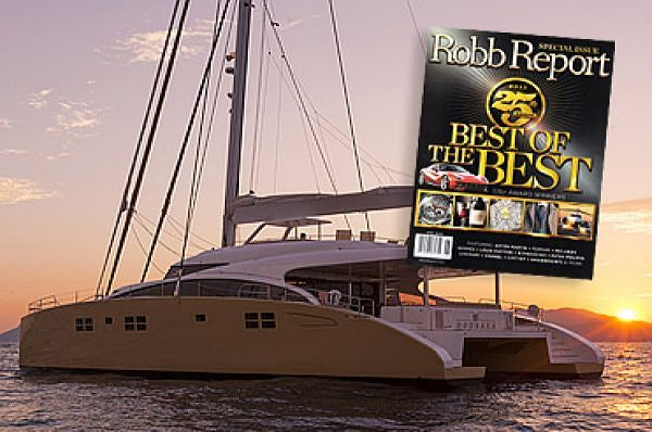 Le Superyacht Sunreef 82 choisi par le Robb Report's Best of the Best comme Meilleur Yacht Semi-Custom 2013!