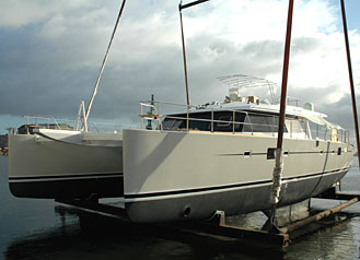 New Sunreef 62 launched yesterday