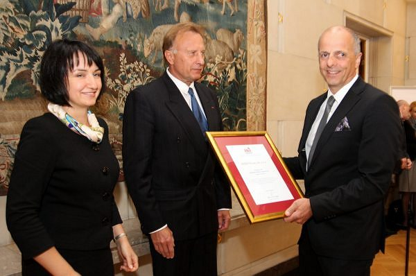 "Francis Lapp Awarded as the Best Exporter in the Awards ""Ambasador Polskiej Gospodarki"" (Ambassador of Polish Economy)"