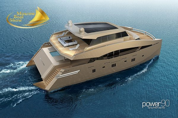 Sunreef Yachts annonce sa présence au Moscow Boat Show 2014.