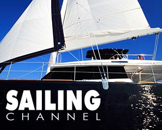 Sailing Channel in Sunreef shipyard
