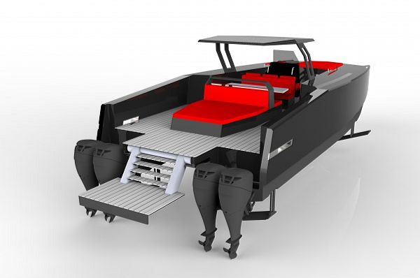 Sunreef Yachts Presents the World First Hydrofoil System for Luxury Open Catamarans