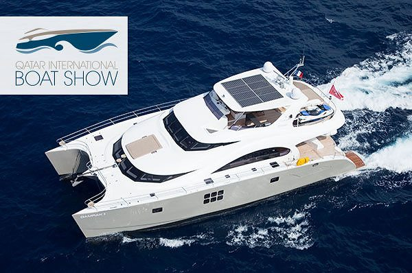 Sunreef Yachts Exhibits its 70ft Power Catamaran at the 2nd Edition of the Qatar International Boat Show
