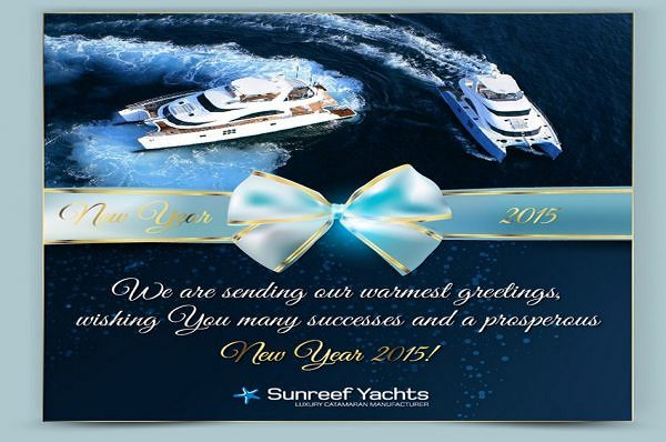 Best New Year's Wishes from Sunreef Yachts