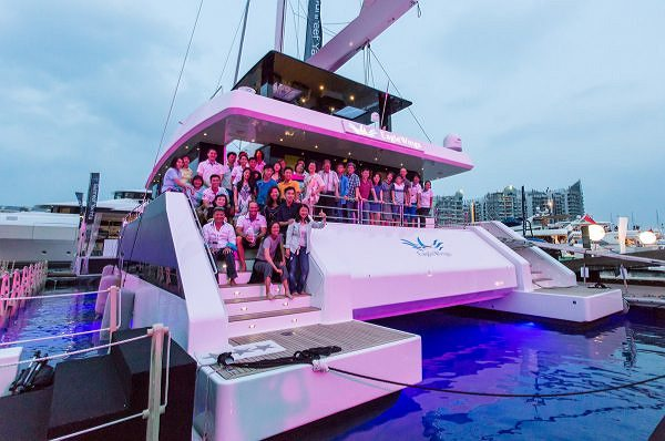 The First Sunreef Supreme 68 Completes Its Delivery at the Singapore Yacht Show
