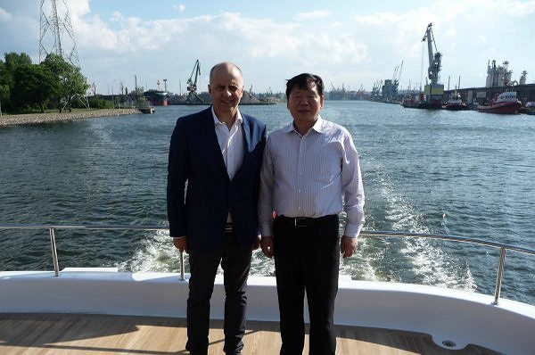 Sunreef Yachts Hosted an official delegation from China