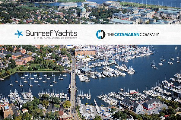 Sunreef Yachts and The Catamaran Company announce their presence at the United States Sailboat Show in Annapolis