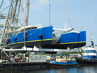New launch of another Sunreef 62\'
