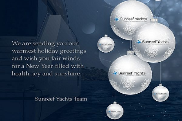 Warmest greetings from Sunreef Yachts