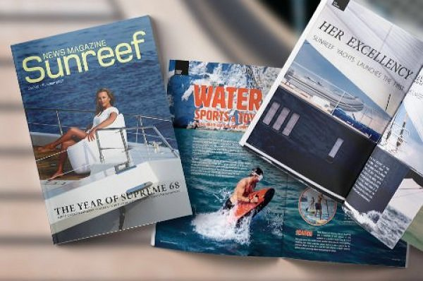The Spring - Summer 2017 Edition of the Sunreef News Magazine is Now Officially Available