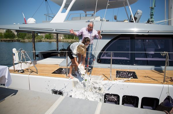 The Sunreef 60 LOFT ADEA Officially Christened