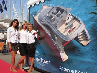 Sunreef Yachts on boatshows in Monaco and Cannes
