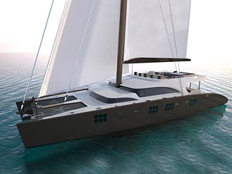 First Superyacht by Sunreef Yachts