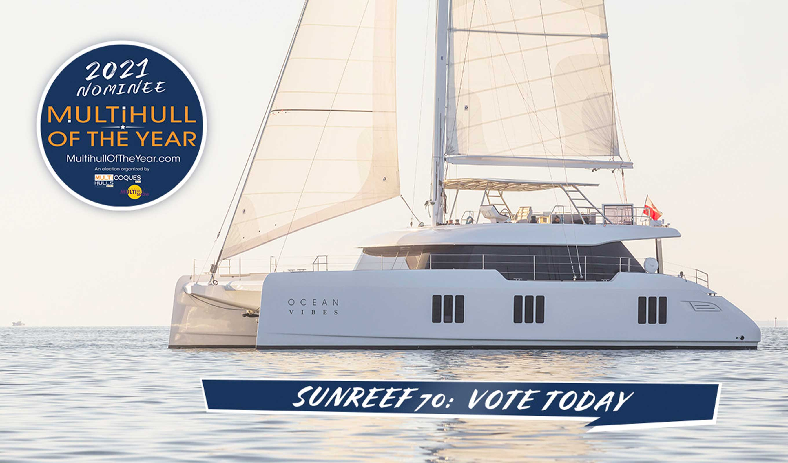 Sunreef 70 competes for Multihull of the Year