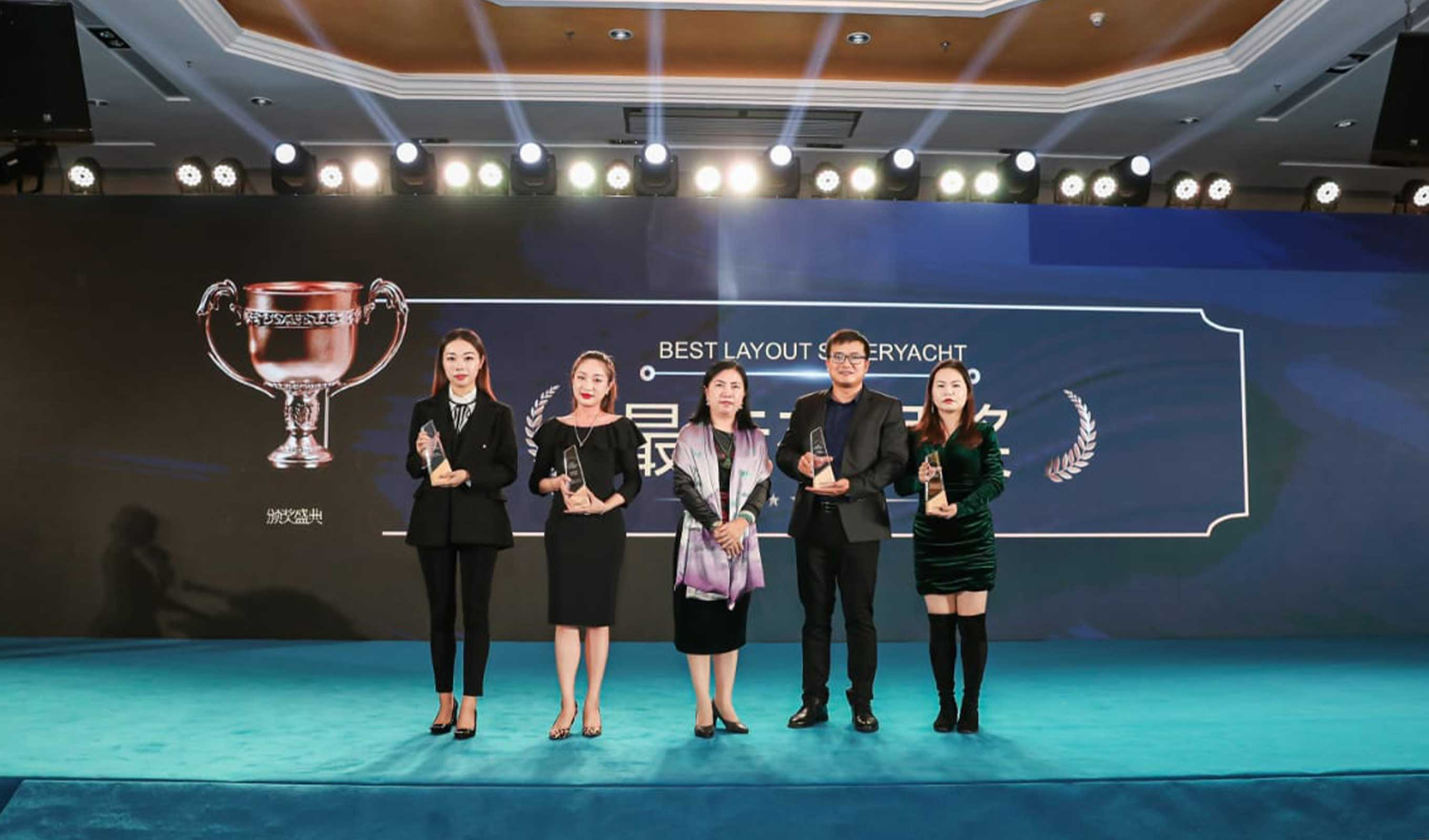 80 Sunreef Power wins the Oceanway China Yachts Award