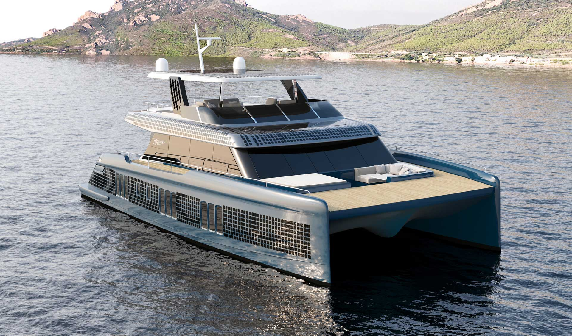 Sunreef power eco electric catamarans