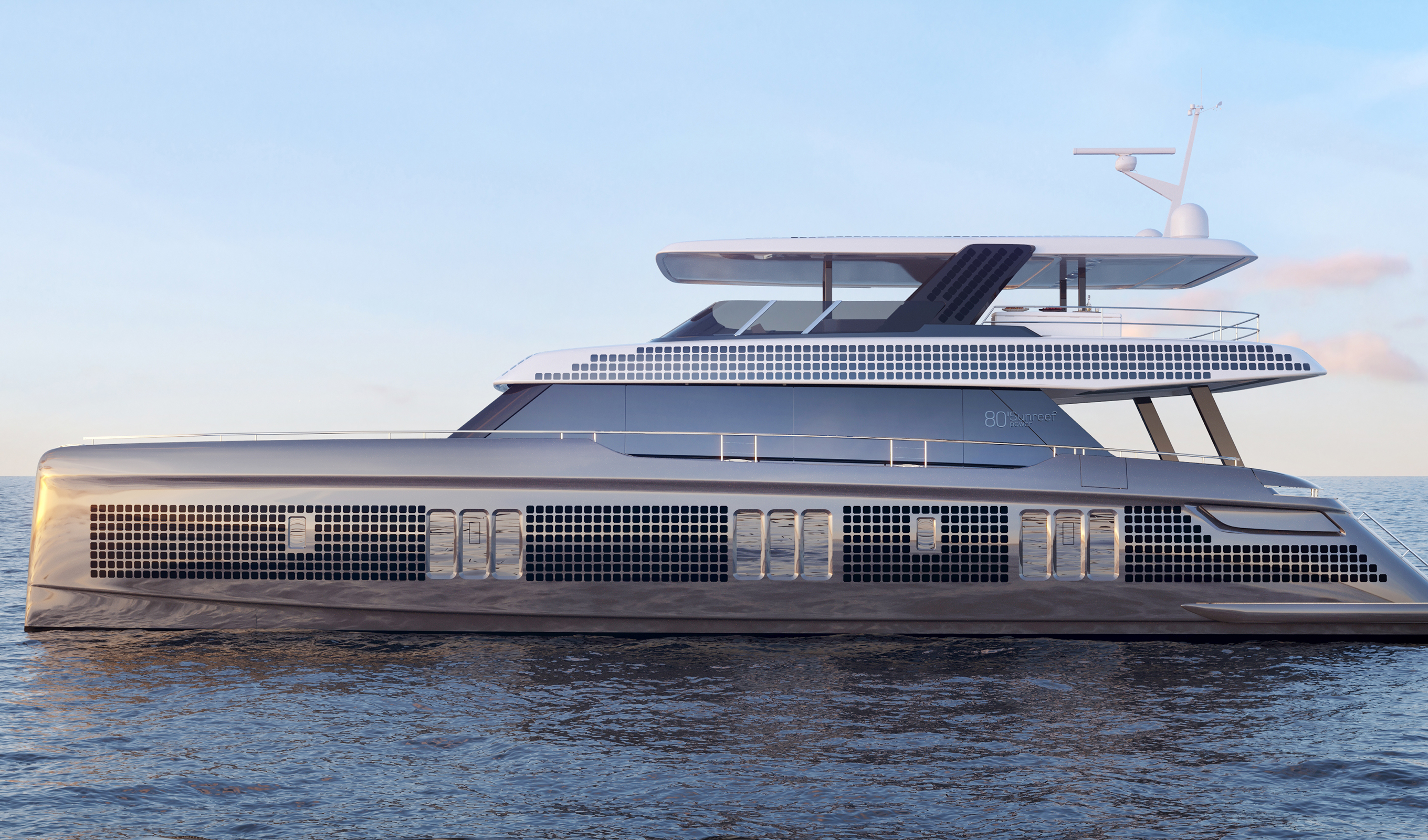 Eco-friendly catamarans propulsion