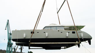 New launch in our shipyard - another Sunreef 62\'