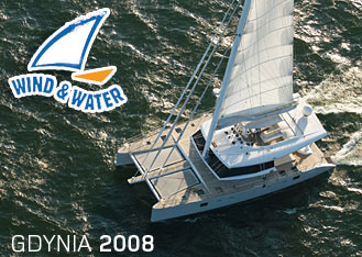 Wind and Water Boat show in Gdynia