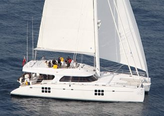 New film presentation of Sunreef 70' Blue Guru