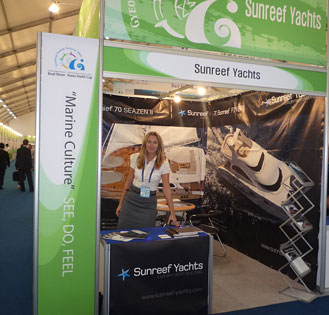 Sunreef Yachts at the Korea International Boat Show
