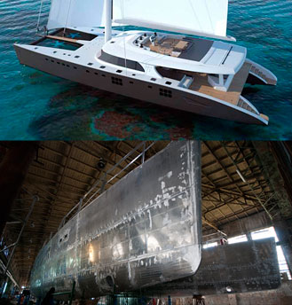 Sunreef superyachts under construction – September 2009 update