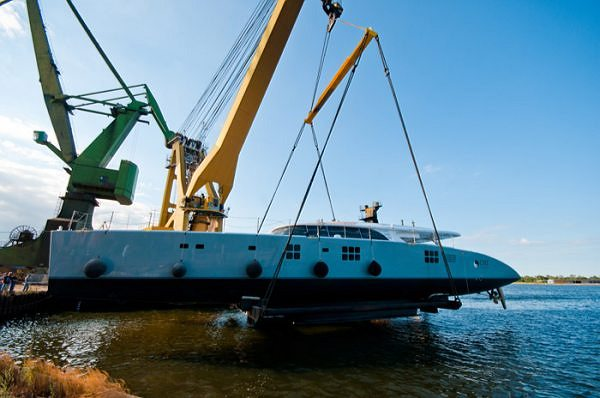 Sunreef Yachts launches its biggest ever superyacht, the Sunreef 114 CHE