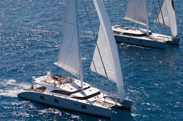 Sunreef superyachts IPHARRA and CHE for charter in the Mediterranean this Summer