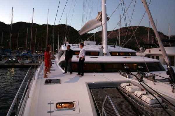 Getaway  Weekend in Gocek with the superyacht Sunreef 102 IPHARRA