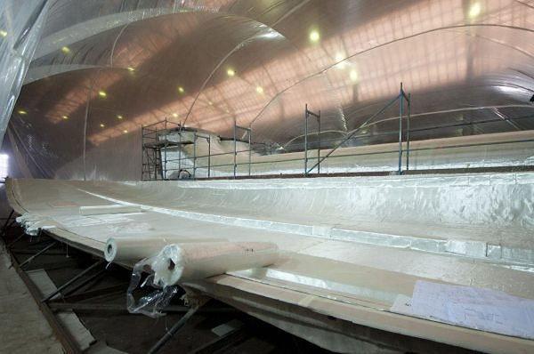 Works progress steadily on two new models: 60 Sunreef Power and Sunreef 82 Double Deck