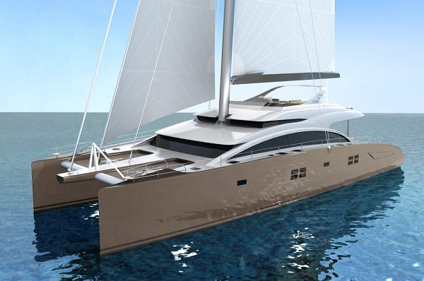 Sunreef 82 Double Deck: Le flybridge déjà  joint à la superstructure