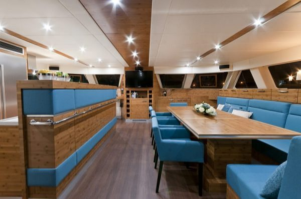 Luxury Catamaran ANINI Recommended for DOBRY WZÓR 2012 (GOOD DESIGN) Awards